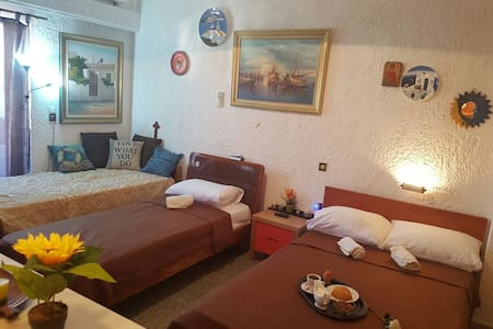 traditional house 20 metres from the sea - Agia Pelagia - Apartment