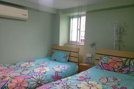 鼓浪屿悠呦家/临海200米特价三人间双床房 - Dom