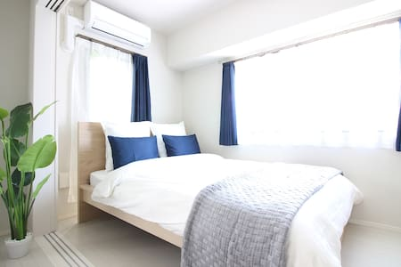 5 MIN to SHINJUKU, 2 DBL BEDS!! - Shibuya-ku - Apartment