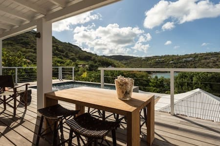 Peaceful 2Bdrm Villa In St. Barth - Villa