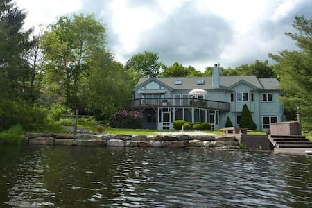 3500sqft LAKEFRONT Home - Pocono Pines - Σπίτι