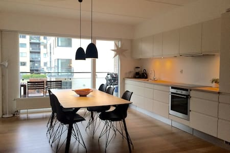 Modern home in excellent location - Copenhaguen - Pis