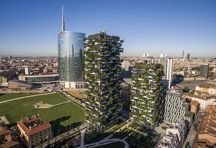 Unique Apartment Bosco Verticale (Vertical Forest) - Milano