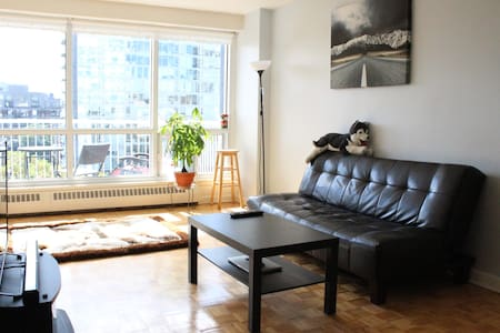 Cozy and Bright Downtown Apartment with Balcony! - Ottawa - Apartment