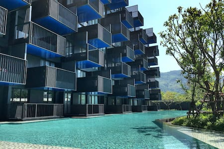 Cozy 2 Bed Condo with own Jacuzzi - Patong - Apartment