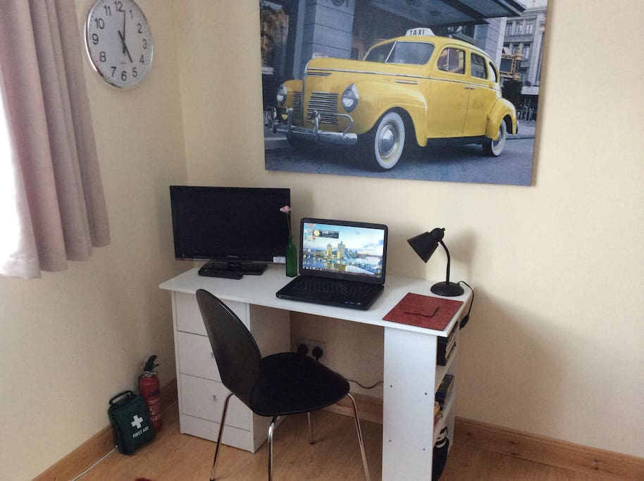 Small Workstation, Or A Breakfast Table. In Your Room.