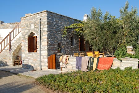 Rustikales Ferienhaus mit Charme - Agia Anna - Haus