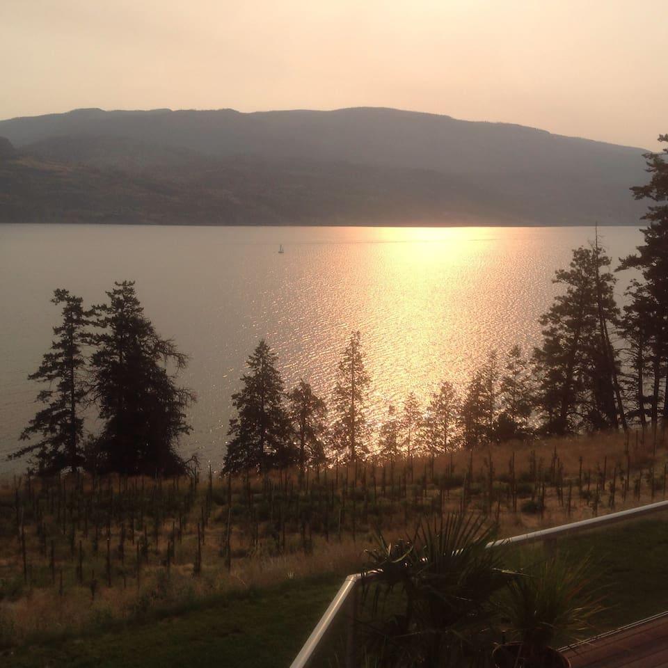 Luxury Retreat on Okanagan Lake