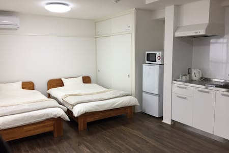 Easy access to JR, city center + Wifi - Hiroshima-shi - Lejlighed