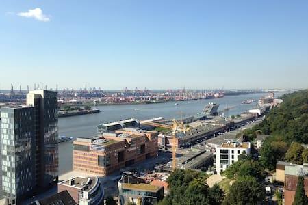 Nice flat with spectacular view - Hamburg - Apartment