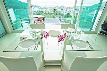 Kata Beach 2 bedroom sea view apartment - Karon - Apartment