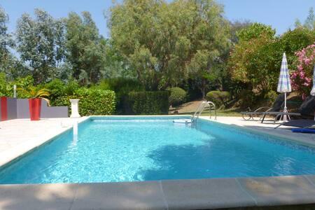 appartement pour 3 personne dans villa, piscine - Apartment