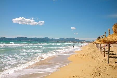 Piso a 1 minuto de la Playa - Palma de Mallorca