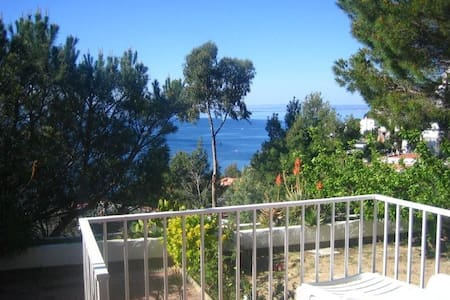 Pretty Garden Studio with Sea View - Roses - Appartement