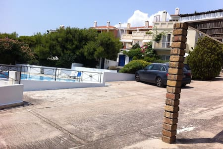 seaside apartment with big pool - Flat