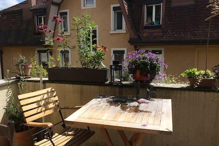 Central, quiet & cosy room in appartement - Lucerne - Íbúð