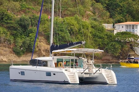 Sumaya Sol Sailing 42 Ft Catamaran in Grenada - Hajó