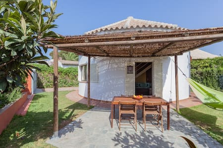 Circular House in Zahora Beach - House