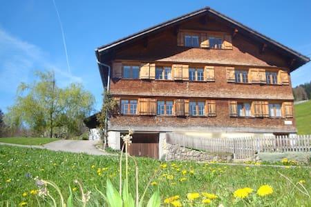 Ferienwohnung 'Alpenblick' - Schwarzenberg - Ház