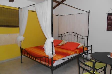 studio avec terrasse et jardin, route de Bologne - Basse-Terre - Bungaló