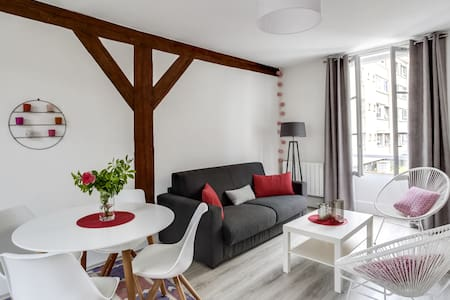Beautiful apartment in the center of Fontainebleau - Leilighet