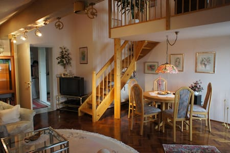 Luxury Maisonette close to Munich city, trade fa - Apartmen
