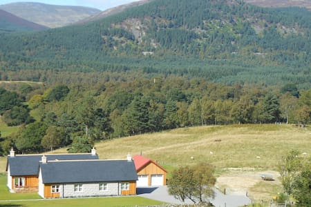 Royal Deeside views of the house and croft. - BALLATER, ABERDEENSHIRE - Bed & Breakfast