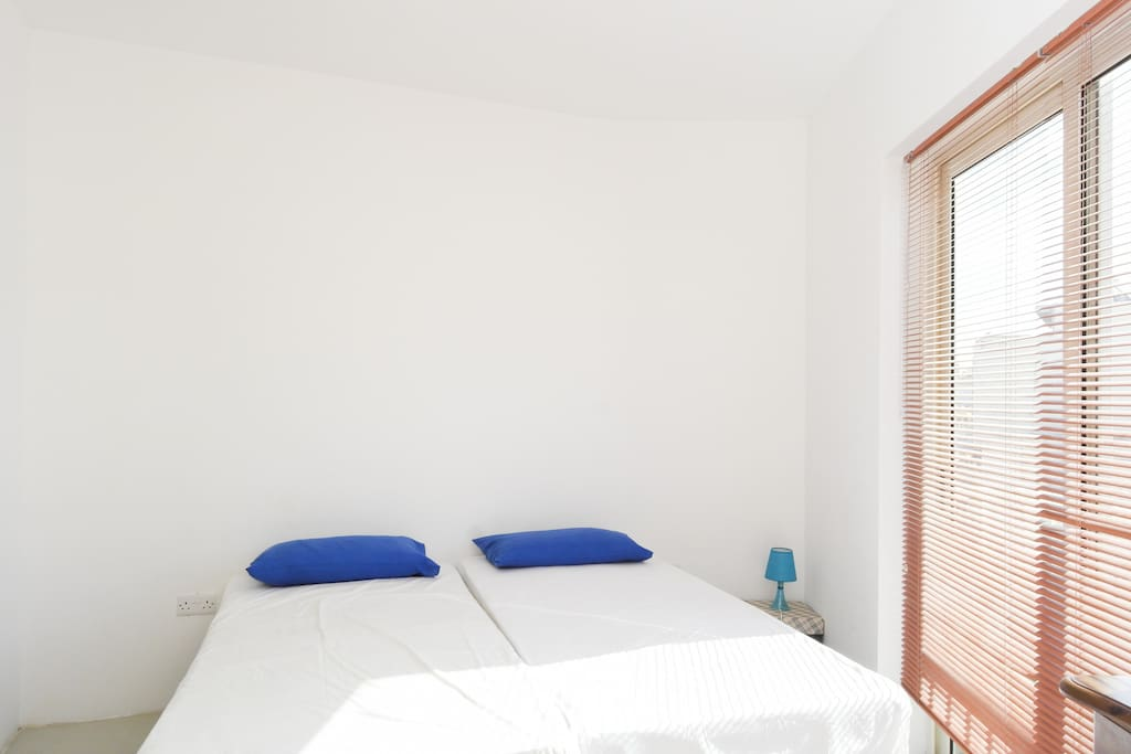 Light and Airy Spare Bedroom