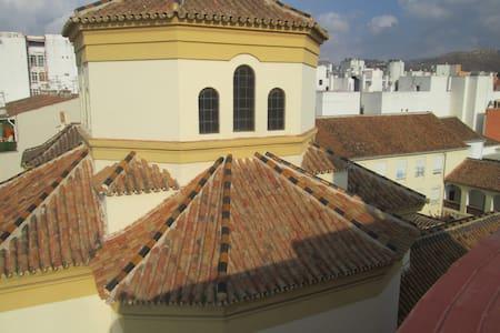 Malaga center : room with terrace