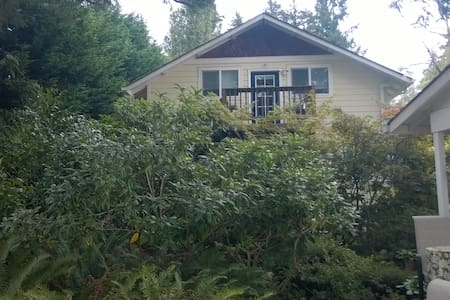 Garden studio on quiet waterfront property - Poulsbo - Huoneisto