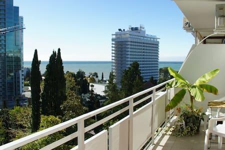 2 к. Апартаменты в центре г. Сочи, до моря 200 м. - Soçi