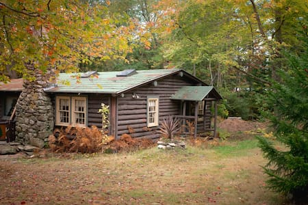 Quaint, rustic 100 year old cabin, Sprucewold, BBH - Kabin
