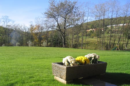 New rooms into a farm holidays - Cavallasca - Inap sarapan