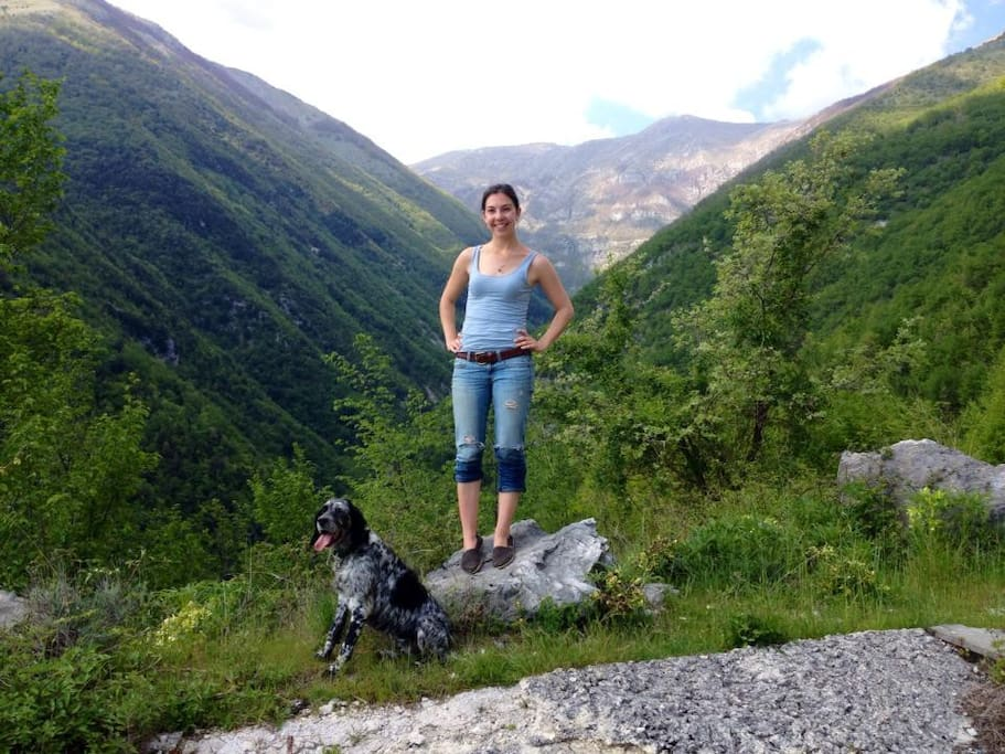 Hiking in abruzzi National Park