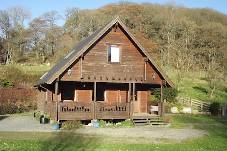 Fin Lodge with hot tub - Llangunllo