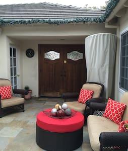 Cozy Courtyard in West Torrance (A)
