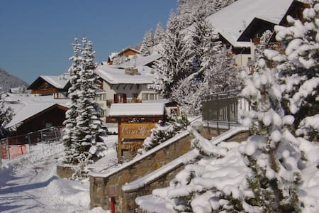 21 to 28 February 2015 apartment living room sofa bed for 2, kitchen tv, wifi, two balconies, all services of the residence Casa Metz in Santa Cristina in Val Gardena, in the center of the village, near ski school and gondola Sasslong (Sella Ronda)