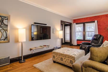 Stunning & Cozy 3/1 near CLE Clinic - Cleveland Heights - Casa
