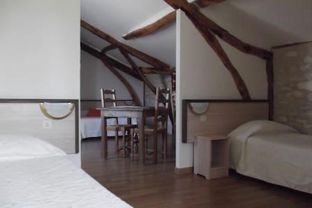chambre familiale le vinagrou - Concots - Domek gościnny