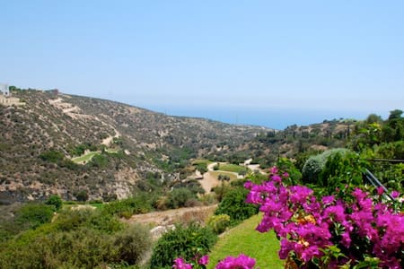 Zias - Charming apartment with stunning sea views. - Byt