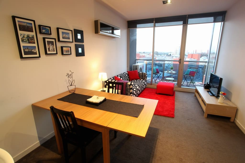 City 2BR, Great View for 6p, carpk