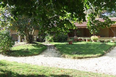 ch. d'hôtes conviviale, près de Marciac (7km) duo - Marciac - Dom