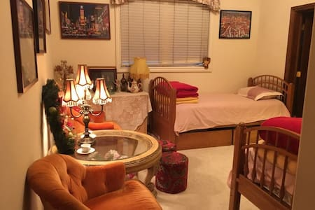 橡树山庄LULU'S HOME, 迷人欧式宫廷风。洛杉矶之行的最佳选择 - 별장/타운하우스