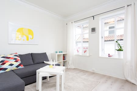 Cosy and bright central apt, room for up to six! - Bergen