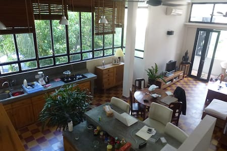 A duplex in the heart of Phnom Penh - Appartamento