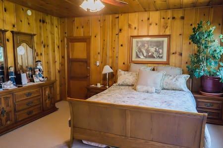Mary Jane's Room at Barlocker's Rustling OaksRanch - Salinas