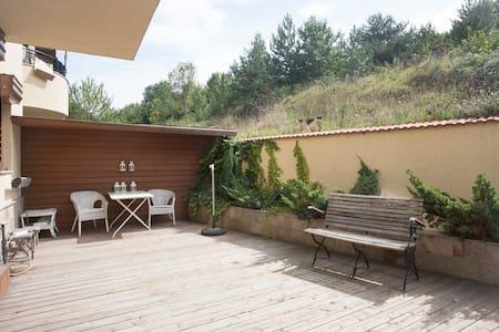 Cozy Apartment With Mountain Views - Leilighet