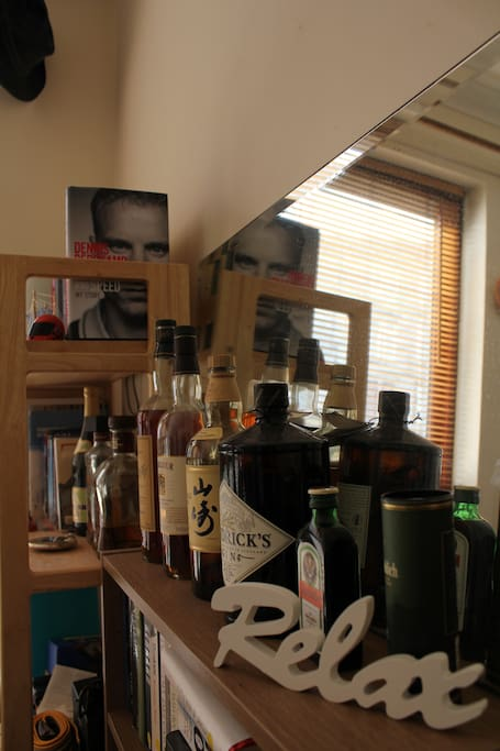 Small selection of my favorite whiskies & rum for you to taste