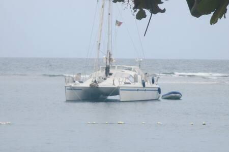 San Blas Panama in  catamarano - El Porvenir