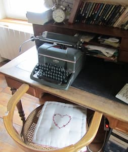 la maison de l'écrivain - La Chapelle-Laurent